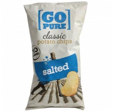 Go Pure Τσιπς Φυσικά Με Αλάτι 125g