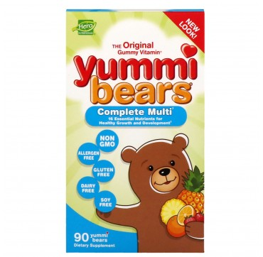 Yummi Bears Multi-Vitamin & Mineral 90gummies