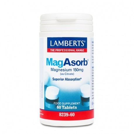 LAMBERTS MAGASORB 150mg 60tabs