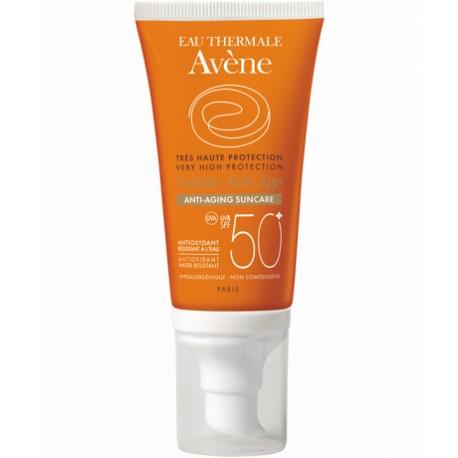 AVENE SUN Cream SPF 50+ Antiage 50 ml