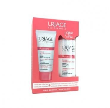 URIAGE Promo Pack Roseliane Anti-Redness Cream 40ml & Δώρο Dermo cleansing Fluid 100ml