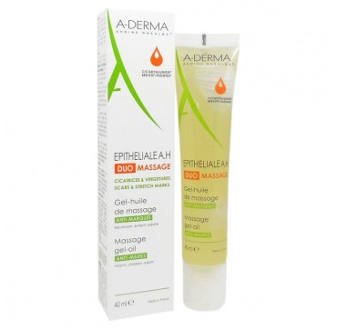 A-derma Epitheliale A.h Duo Massage Gel-oil 40ml