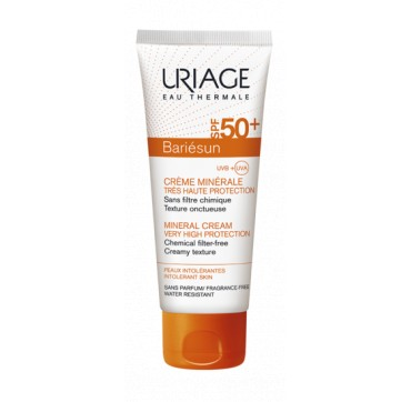 Uriage Bariesun Mineral Cream Spf50+ 100ml