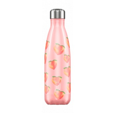 CHILLY'S BOTTLE PEACH SUMMER EDITION REUSABLE BOTTLE ΑΝΟΞΕΙΔΩΤΟ ΘΕΡΜΟΣ 500ML