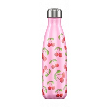CHILLY'S BOTTLE CHERRY SUMMER EDITION REUSABLE BOTTLE ΑΝΟΞΕΙΔΩΤΟ ΘΕΡΜΟΣ 500ML
