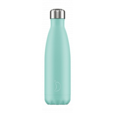 CHILLY'S BOTTLE GREEN PASTEL EDITION REUSABLE BOTTLE ΑΝΟΞΕΙΔΩΤΟ ΘΕΡΜΟΣ 500ML