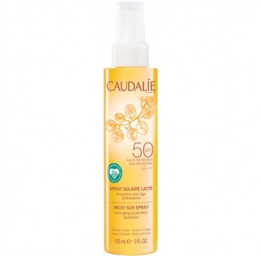 CAUDALIE MILKY SUN SPRAY BODY & FACE SPF50 150ml