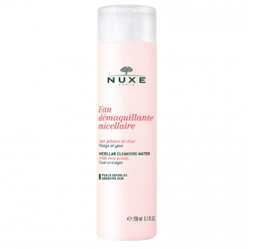 NUXE EAU DEMAQUILLANT MICELLAIRE CLEANSING WATER WITH ROSE PETALS 200ml