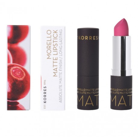 KORRES MORELLO MATTE LIPSTICK 75 STRAWBERRY FIELDS 3.5gr