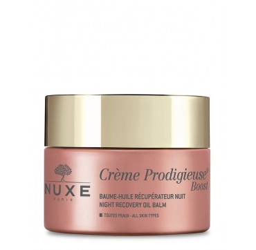 Nuxe Creme Prodigieuse Boost Night Recovery Oil Balm All Skin Types 50ml