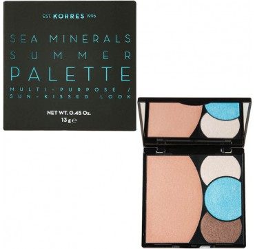 KORRES SEA MINERALS SUMMER PALETTE BLUE WAVES 13gr