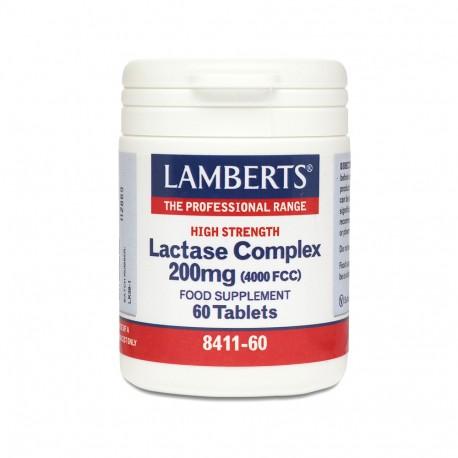LAMBERTS LACTASE COMPLEX 350mg (9000fcc) 60tabs
