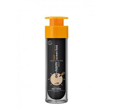 Frezyderm Ac-norm Sunscreen Fluid Tinted Spf50+ 50ml