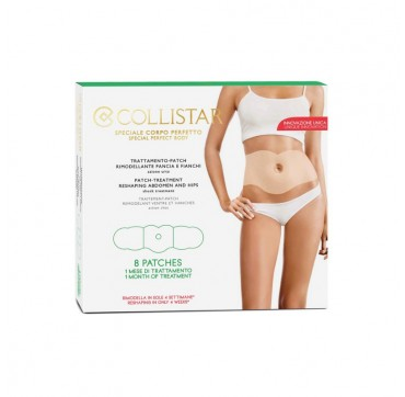COLLISTAR BODY PATCH TREATMENT FIRMING RESHAPING ABDOMEN AND HIPS 8 patches