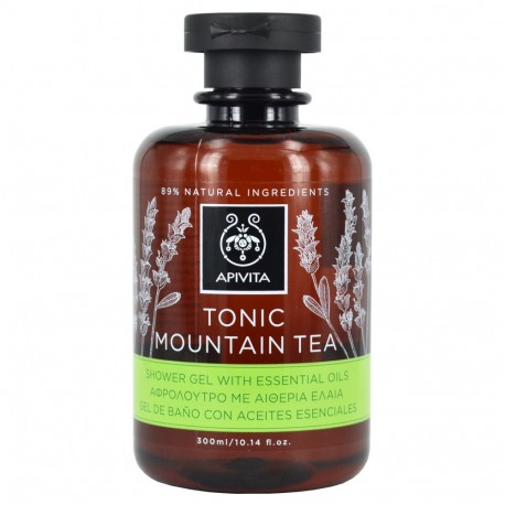 APIVITA TONIC MOUNTAIN TEA ΑΦΡΟΛΟΥΤΡΟ 300ml