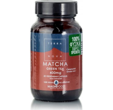 TERRANOVA MATCHA GREEN TEA 400mg 50vcaps