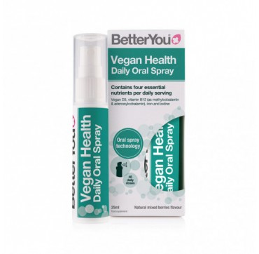 Better You Vegan Health Daily Oral Spray 25ml