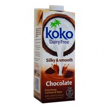 Koko Ρόφημα Καρύδας + Ασβέστιο Με Γεύση Σοκολάτα 1lt