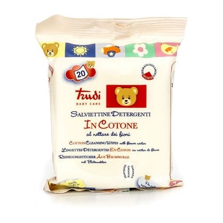 Trudi Cotton Cleansing Wipes with Flower Nectar 20 pcs