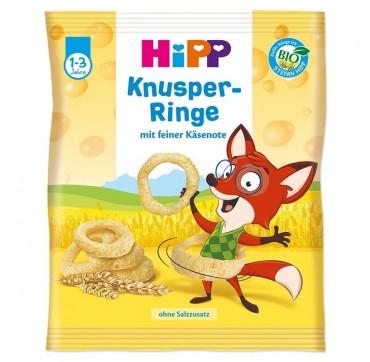 Hipp Τραγανά Τυροδαχτυλίδια 1-3 Ετών 25 Gr