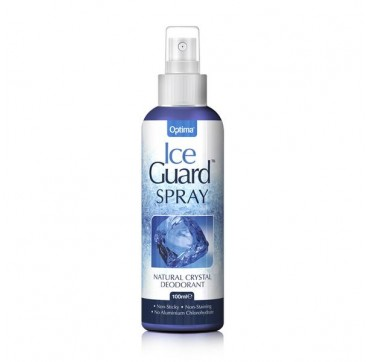 OPTIMA ICE GUARD SPRAY NATURAL CRYSTAL DEODORANT 100ml