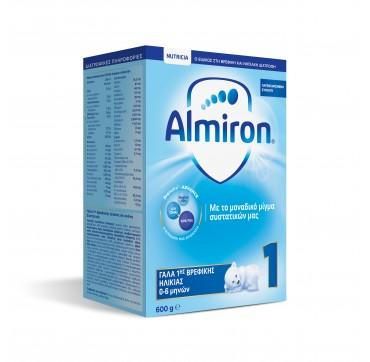 Nutricia Almiron 1 Γάλα Ηλικίας 0-6 Μηνών 600g