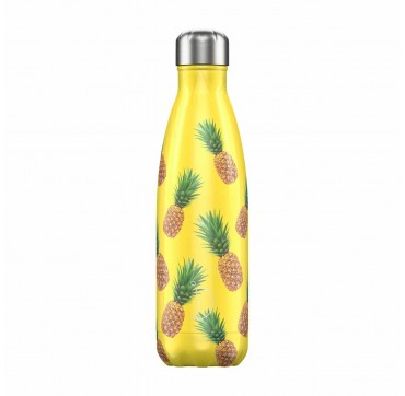 CHILLY'S BOTTLE PINEAPPLE EDITION REUSABLE BOTTLE ΑΝΟΞΕΙΔΩΤΟ ΘΕΡΜΟΣ 500ML