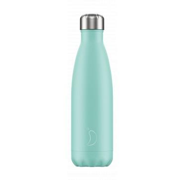 Chilly' s Bottle Green Pastel Edition Reusable Bottle Ανοξείδωτο Θέρμος 750ml