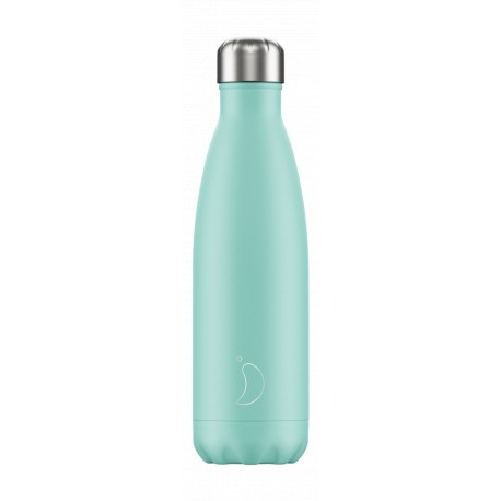 CHILLY'S BOTTLE GREEN PASTEL EDITION ΑΝΟΞΕΙΔΩΤΟ ΘΕΡΜΟΣ 500ML
