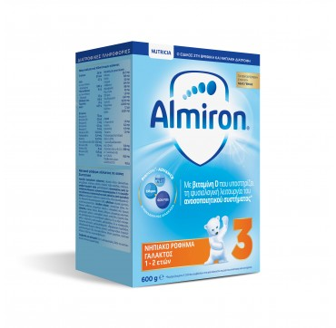 NUTRICIA ALMIRON 3 ΓΑΛΑ ΗΛΙΚΙΑΣ 1-2 ΕΤΩΝ 600g