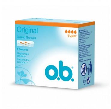 O. b. Original Super Ταμπόν 8τμχ