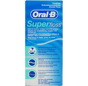 ORAL-B SUPER FLOSS 50τμχ