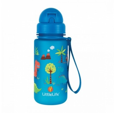 Littlelife Water Bottle Dinosaurs Παγούρι Με Καλαμάκι 400ml