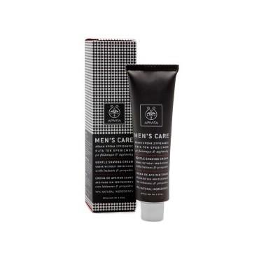 Apivita Men' s Care Gentle Shaving Cream Απαλή Κρέμα Ξυρίσματος Κατά Των Ερεθισμών Με Βάλσαμο/πρόπολη 100ml