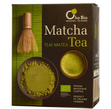 Ola-bio Matcha Tea Τσάι Μάτσα Βιολογικής Γεωργίας 100g