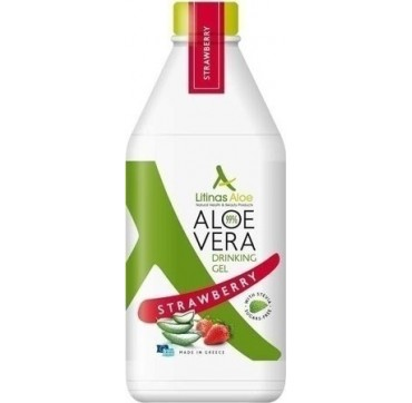 Litinas Πόσιμο Aloe Vera Gel Γεύση Φράουλα 1000ml