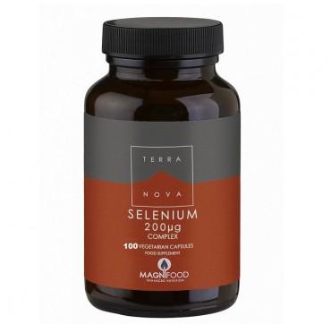 Terranova Selenium 200μg Complex 100caps