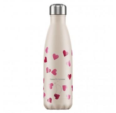 Chilly' s Bottle E. b. Hearts Reusable Bottle Ανοξείδωτο Θέρμος 500ml