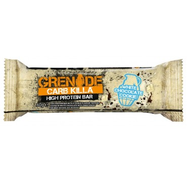 GRENADE CARB KILLA ΜΠΑΡΑ ΠΡΩΤΕΙΝΗΣ ΓΕΥΣΗ WHITE CHOCOLATE COOKIE 60g