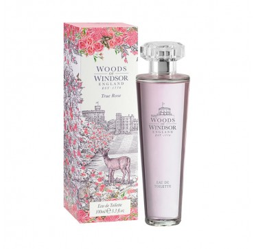Woods Of Windsor True Rose Eau De Toilette100ml