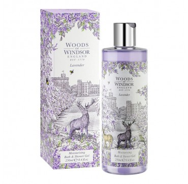 Woods Of Windsor Lavender Moisturising Bath & Shower Gel 250ml