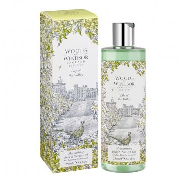 Woods Of Windsor Lily Of The Valley Moisturising Bath & Shower Gel 250ml