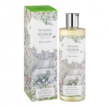 Woods Of Windsor White Jasmine Moisturising Bath & Shower Gel 250ml