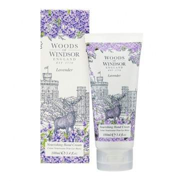 Woods Of Windsor Lavender Nourishing Hand & Nail Cream 100ml