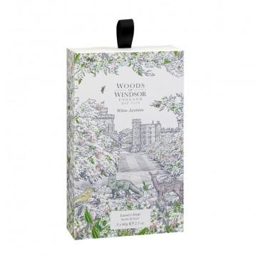 Woods Of Windsor White Jasmine Soap 3x60g