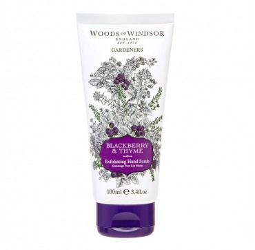 Woods Of Windsor Blackberry & Thyme Exfoliating Hand Scrub 100ml