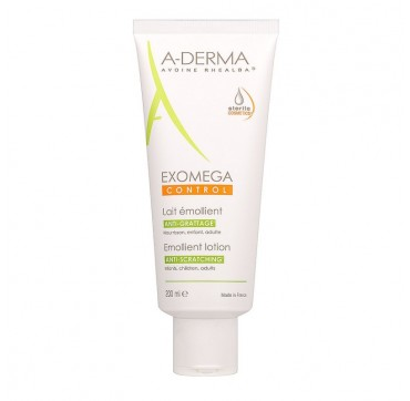 A-DERMA EXOMEGA CONTROL EMOLLIENT LOTION ANTI-SCRATCHING 200ML