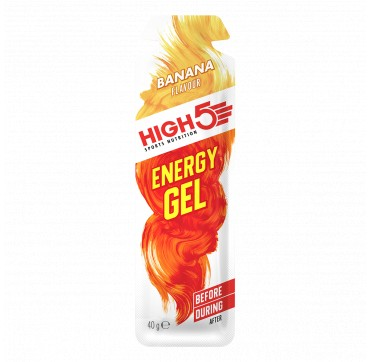 HIGH5 ENERGY GEL BANANA 40g