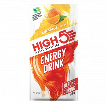 High5 Energy Drink Orange Flavour 47gr