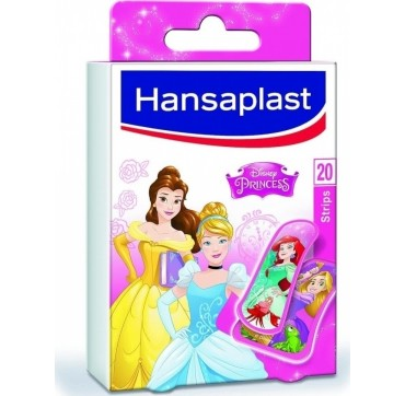 Hansaplast Disney Princess Επιθέματα για τα Δάκτυλα 20 strips (6 Strips-55 x 30mm & 14 strips-55x19)